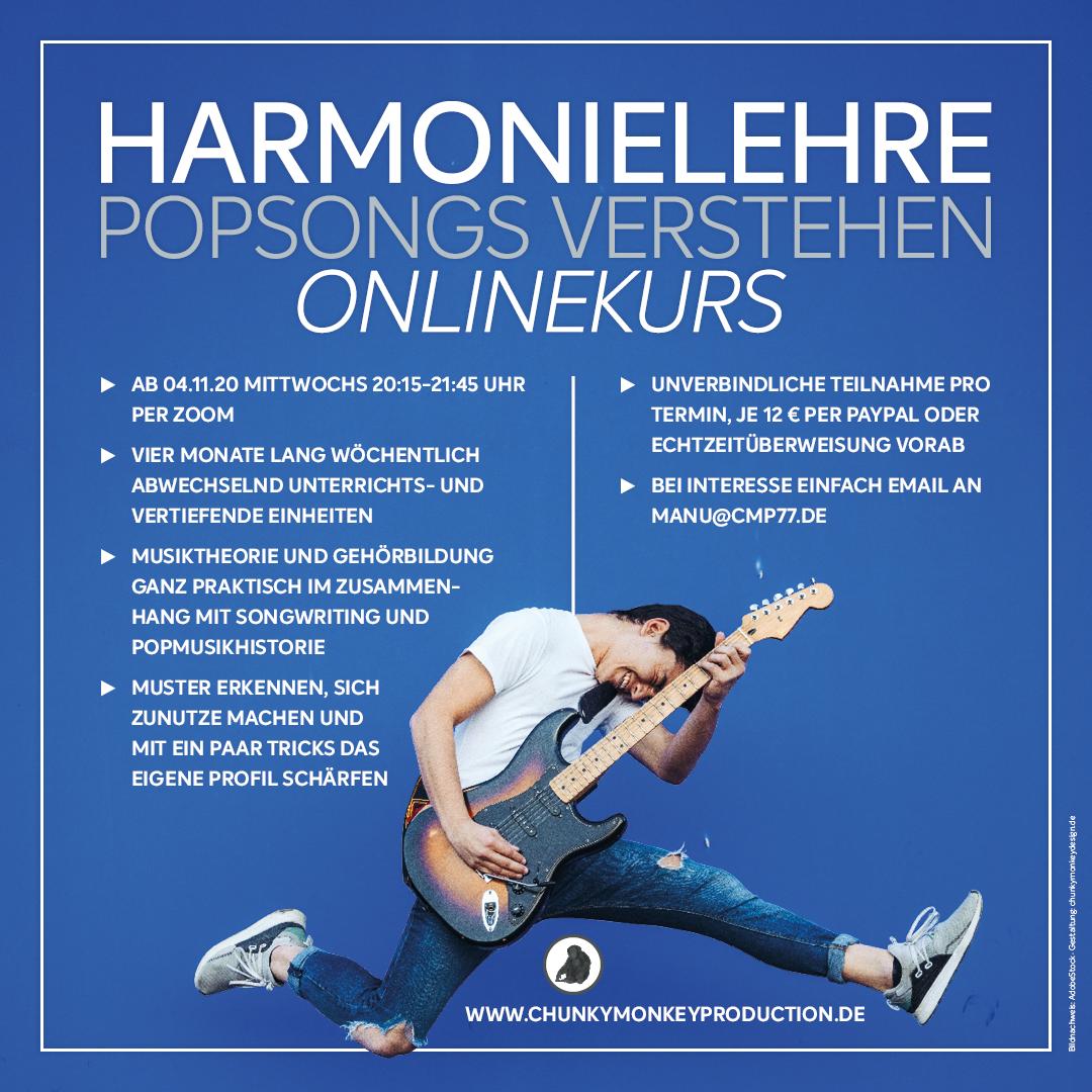 Der neue Online-Musiktheorie-Kurs startet!